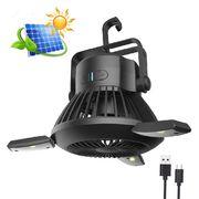 Туристический подвесной вентилятор с LED подсветкой