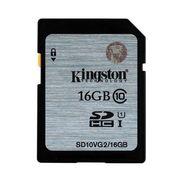 Карта памяти SDHC Kingston SD10V/ 10 class 16GB