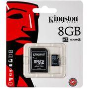 Карта памяти SDHC Kingston SD10V/ 10 class 8GB